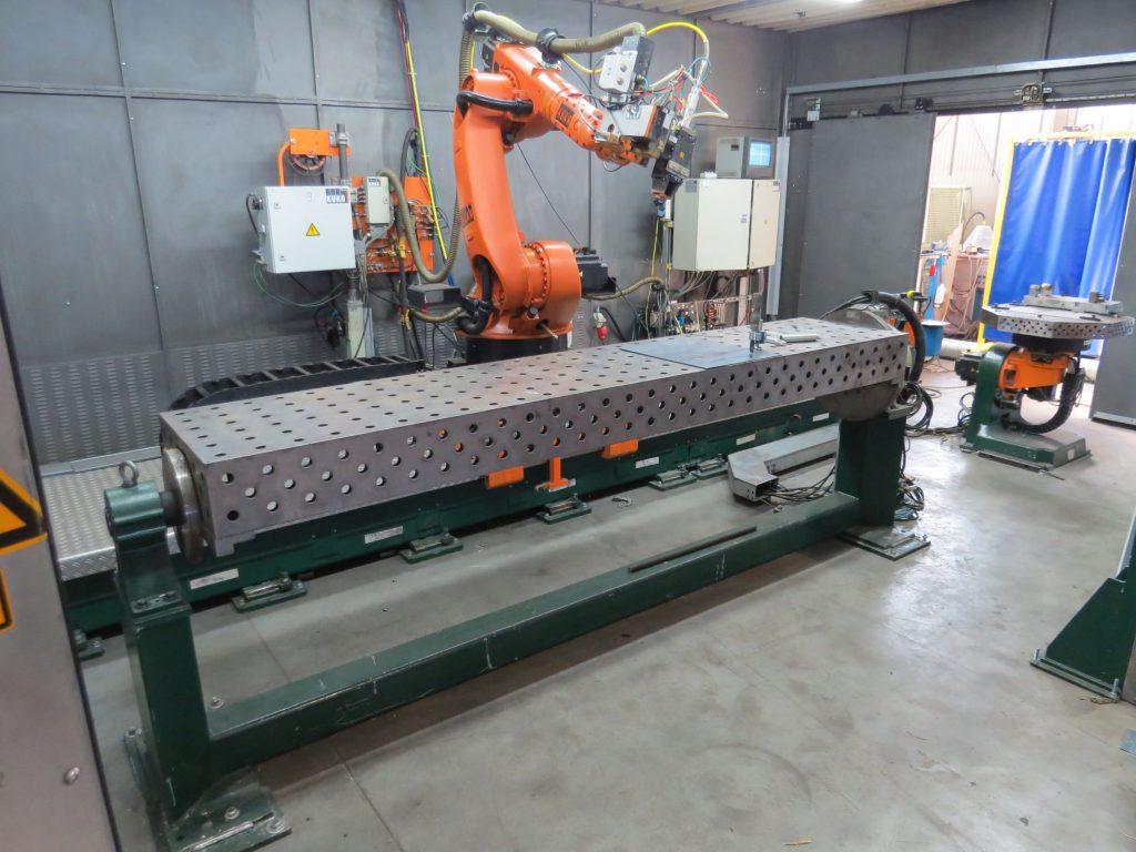 CNC Cell for laser welding KUKA KR 60 HA | Inter-plast